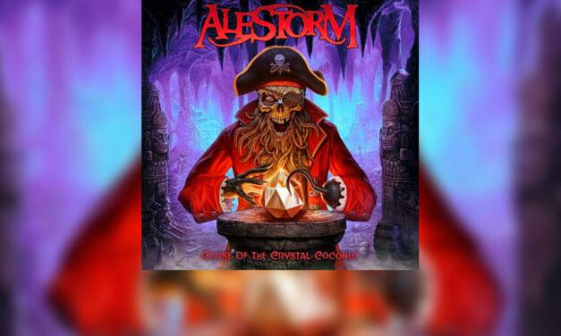 Review: ALESTORM regresa con «Curse Of The Crystal Coconut»