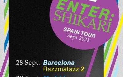 ENTER SHIKARI presentará su nuevo disco en Barcelona y Madrid