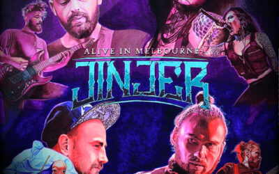 JINJER publicará un álbum en directo el 20 de noviembre