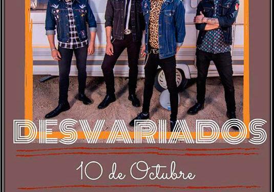 DESVARIADOS actuarán en Soria este 10 de octubre en una «sesión vermú»