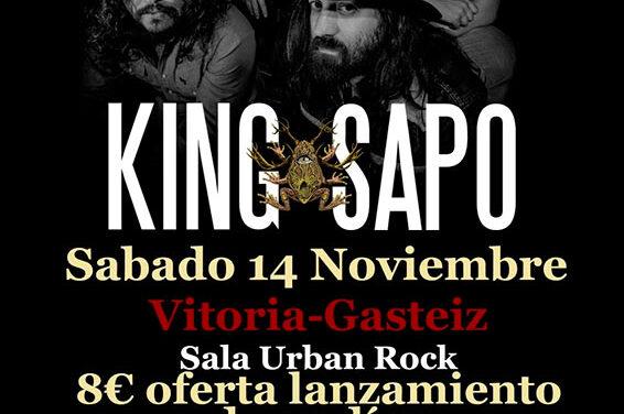 KING SAPO actuará el 14 de noviembre en Vitoria-Gasteiz