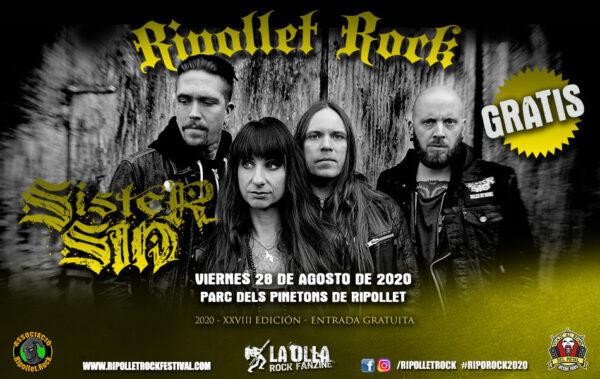 ripollet rock sister sin