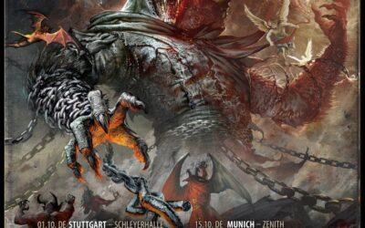 POWERWOLF anuncia dos fechas en España dentro de su gira «Wolfsnächte 2021»
