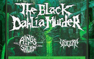 THE BLACK DAHLIA MURDER y RINGS OF SATURN girarán por España en enero de 2022