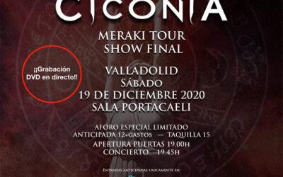 CICONIA grabará su concierto fin de gira en Valladolid el 19 de diciembre