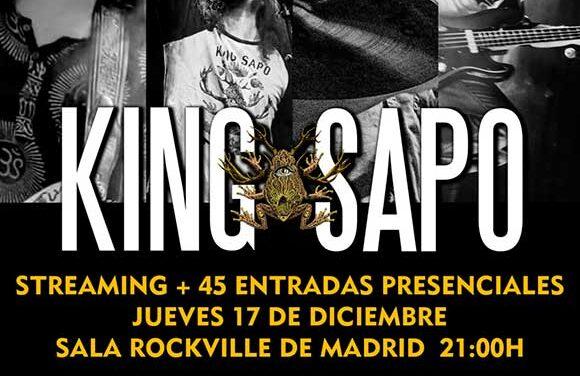 KING SAPO hará un concierto especial por Navidad en Madrid