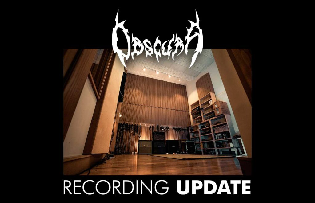 obscura recording update