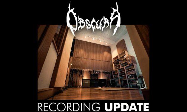 OBSCURA ya está grabando su nuevo álbum de estudio