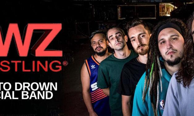 ¿Te gusta la lucha libre? SWIM TO DROWN es la nueva banda oficial de AWZ WRESTLING