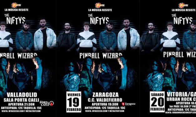 Confirmadas las primeras fechas de PINBALL WIZARD + THE NIFTYS