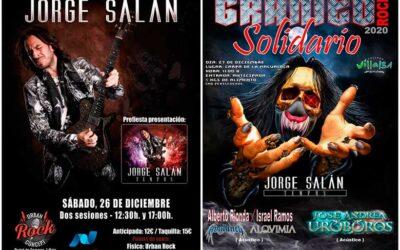 JORGE SALÁN actúa en Vitoria y Madrid este fin de semana