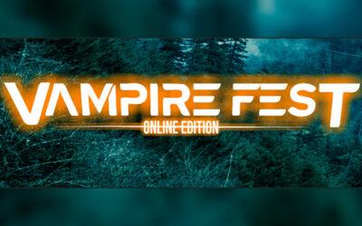 VAMPIRE FEST comienza 2021 con nuevas confirmaciones para su edición online