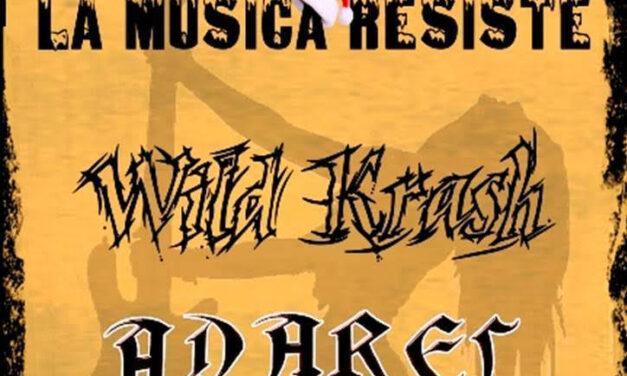 La música resiste: Heavy Metal Party en Navidad con ADAREL y WILD KRASH