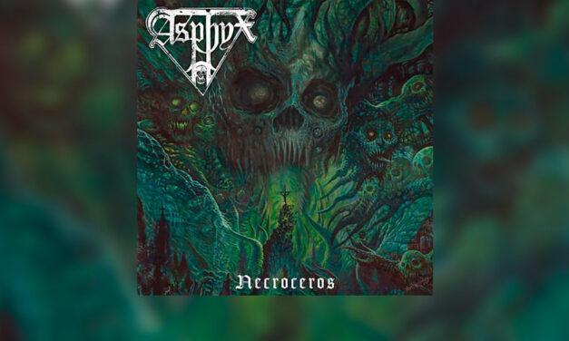 Review: ASPHYX presenta su nuevo y oscuro trabajo «Necroceros»