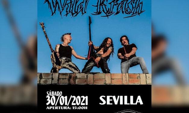 WILD KRASH presentará su nuevo trabajo en Sevilla el 30 de enero