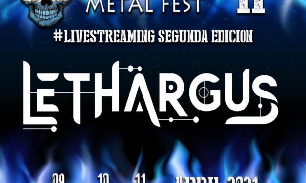 LETHARGUS quiere presentarte su nueva formación en directo