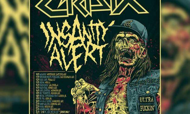 CRISIX confirma gira europea con 25 fechas junto a Insanity Alert