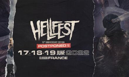 La organización del HELLFEST pospone su XV edición a 2022