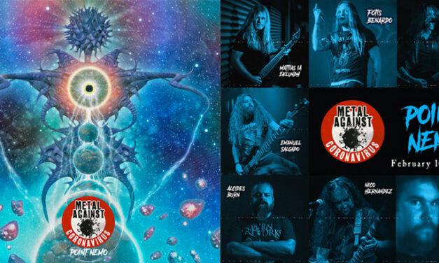 «Point Nemo» es el nuevo single de METAL AGAINST CORONAVIRUS