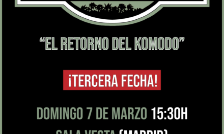 NOPROCEDE anuncia tercera fecha en Madrid