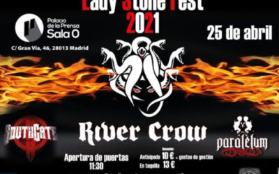 Lady Stone Fest: RIVER CROW, PARALELUM y SOUTHGATE en Madrid