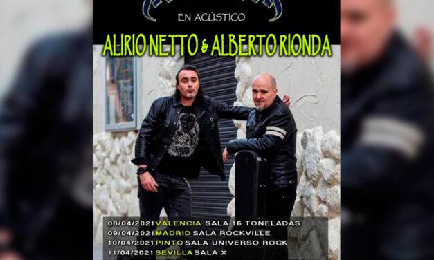 AVALANCH confirma a Alirio Netto como nuevo vocalista