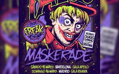 TALCO MASKERADE llegará de gira a España en este mes de mayo