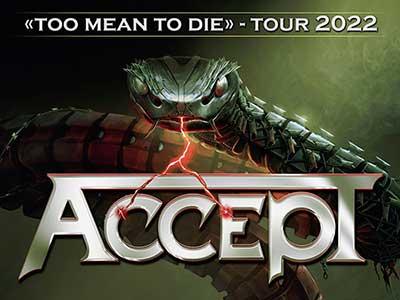 ACCEPT anuncia gira por Europa en enero de 2022