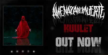 AMENAZA DE MUERTE ya tiene su nuevo álbum «Huulet» disponible