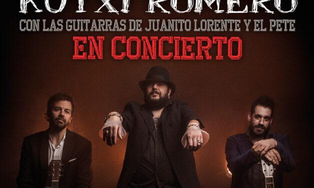 KUTXI ROMERO actuará en Madrid y Barcelona el próximo mes de mayo