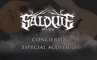 Crónica: SALDUIE retoma su gira en acústico en Madrid (17-4-2021)