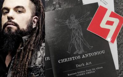 Christos Antoniou de SEPTICFLESH entra en la biblioteca de Berklee College Of Music