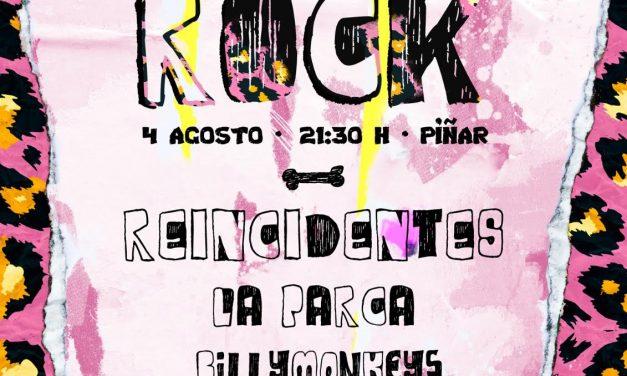 El festival Carihuela Rock vuelve en agosto con REINCIDENTES, LA PARCA y BILLYMONKEYS