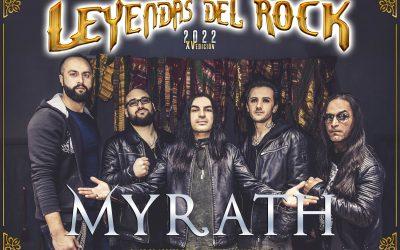 LEYENDAS DEL ROCK añade a su cartel de 2022 a MYRATH