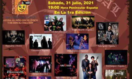 El rock y el metal se unen en este Festival Solidario contra el cáncer