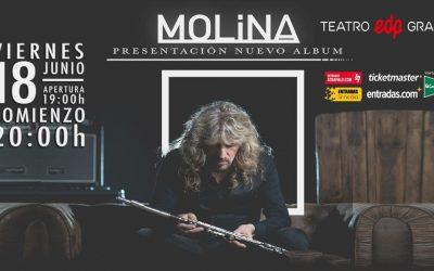 José Carlos Molina (ÑU) actuará este viernes en Madrid