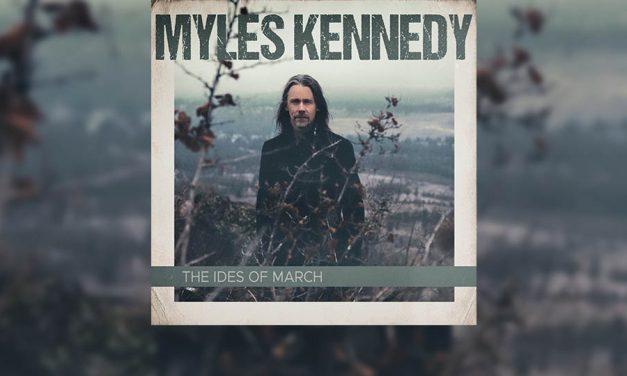 Review: MYLES KENNEDY y su nuevo trabajo «The Ides Of March»