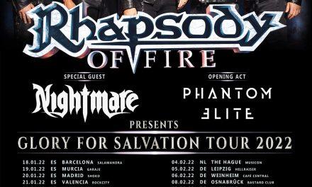 RHAPSODY OF FIRE anuncia gira por España en enero de 2022