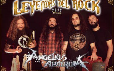 ANGELUS APATRIDA, confirmados en el festival Leyendas del Rock