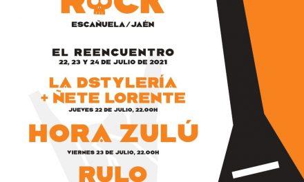 Vuelve el Festival VINCULA ROCK (Escañuela, Jaén) del 22 al 24 de julio
