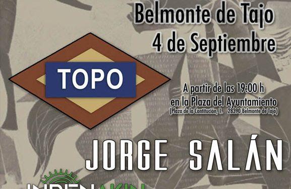 GernikaFest 2021: TOPO, JORGE SALÁN, INDENAKIN y HORA LIMITE en septiembre