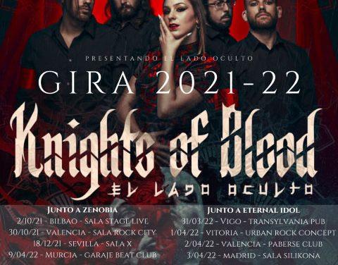 KNIGHTS OF BLOOD presentan gira 2021-22 junto a ZENOBIA y ETERNAL IDOL