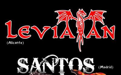 Primer fin de semana de agosto en la sala Rockville (Madrid): LEVIATÁN, SANTOS y ARCANO BOREAL