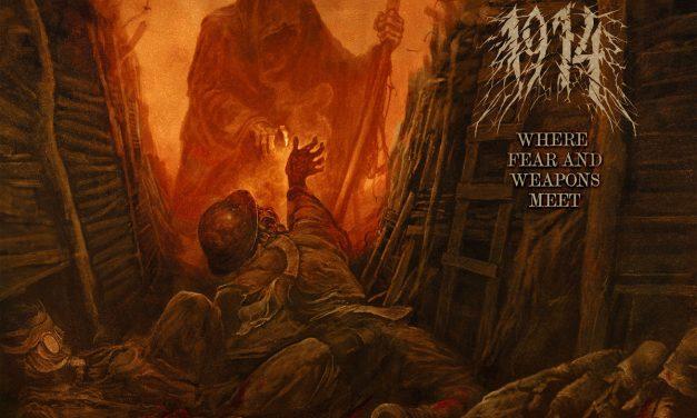 "1914 presenta el videoclip animado de ""Pillars Of Fire (The Battle Of Messines)"""