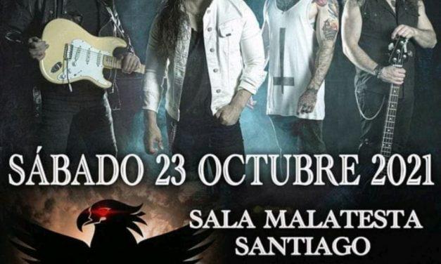 SARATOGA actuará en Santiago de Compostela en octubre
