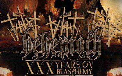"BEHEMOTH hará arder Halloween con ""XXX Years Ov Blasphemy"""