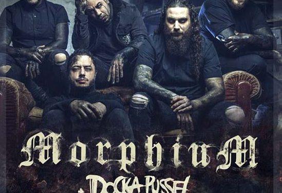 MORPHIUM + DOCKA PUSSEL actuarán en Sevilla