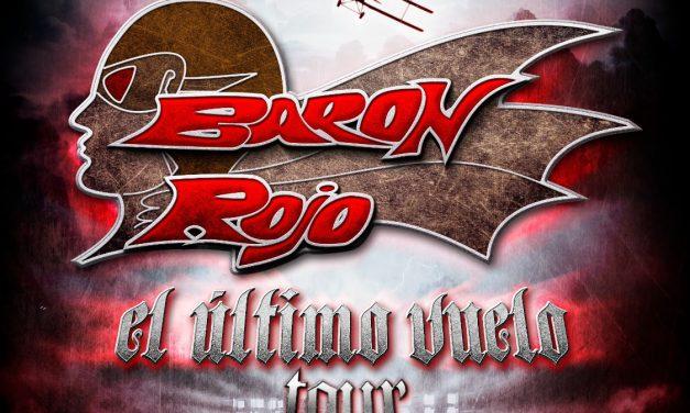 BARÓN ROJO dará el concierto más importante de su historia en su gira de despedida