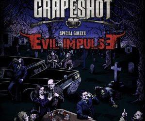 GRAPESHOT presentará su nuevo álbum en Madrid junto a EVIL IMPULSE